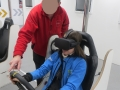 Safety Exercise simulated speed experience with immersive technology the Road Safety Authority