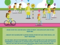 Safety Poster for primary schools to be safe,, be seen with tips